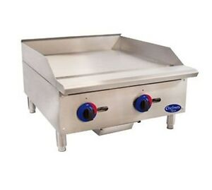 Globe Food Equipment Chefmate 24 Gas Griddle