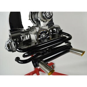 2 Tip Gt Exhaust For Type 1 Vw Engines Raw Steel Dunebuggy Vw