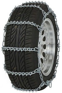 195 75 15 195 75r15 Tire Chains V Bar Link Snow Traction Passenger Vehicle Car