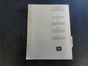John Deere 6310 Bulldozer Parts Catalog Pc 917