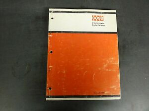 Case 310e Crawler Parts Catalog B687