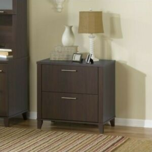 Bush Furniture Somerset Lateral File Cabinet In Mocha Cherry