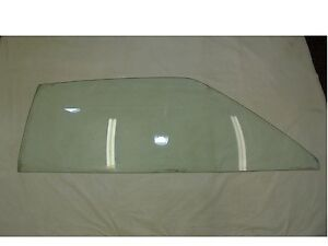 1969 Mustang Fastback Door Glass Clear Passenger