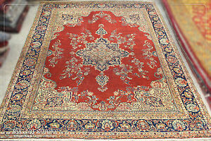 13 2 X 11 2 Area Carpet Old Persian Carpet Hand Knotted Persian Carpet Old