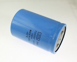Ucc 72000uf 60v Large Can Electrolytic Capacitor 36de723g060dd2a