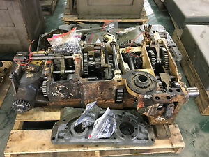 Giddings Lewis 350t Transmission And Other G l Horizontal Boring Mill Parts