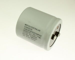 Philips 45000uf 50v Large Can Electrolytic Capacitor 3186gc453u050apa2