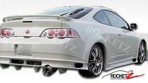 02 06 Acura Rsx Jdm Vader Style Fender Flares 4 Pcs Usa Canada 03 04 05 F r