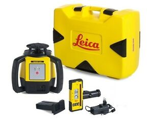 Rotating Laser Leica Rugby 610 W Rod 140 Li ion Package 6008613