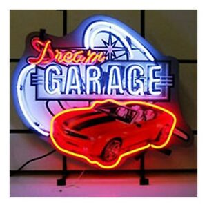 Neonetics 5dgchv Dream Garage Gm Chevy Chevelle Ss Neon Sign 29 X 24