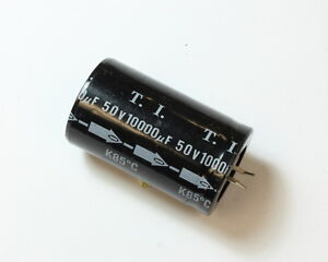 Lot 14x Tecate 10000u 50v Aluminum Electrolytic Snap In Capacitor Lg50 10000ma