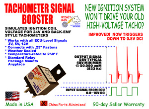 Tach Tachometer Signal Booster 3 16v In 48 63v Out Compare To Msd 8920