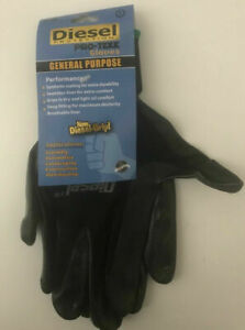 3 6 12pairs Diesel Grip Pro tekk Work Gloves general Purpose construction xxl
