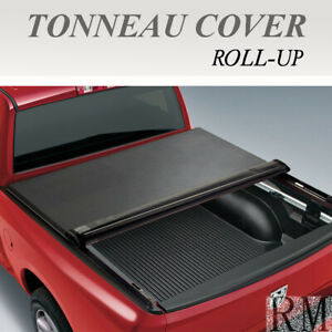 Lock Roll Up Soft Tonneau Cover For 2007 2013 Chevy Silverado 5 8ft 69 6in Bed
