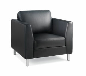 Steelcase Lincoln Leather Lounge Chair