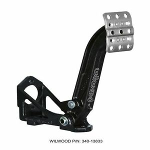 Wilwood 340 13833 Single Floor Mount Clutch Brake Pedal Assembly
