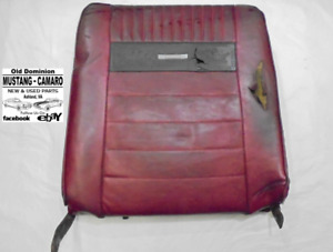 1965 1966 Mustang Pony Front Bucket Seat Back Passenger