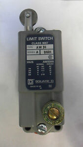 New Square D 9007 Aw36 9007 Aw 36 Precision Roller Limit Switch Series A