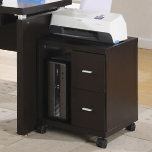 Monarch Specialties Inc 2 drawer Mobile Filing Cabinet