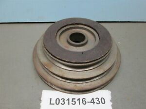 V belt 3 Step Sheave Pulley 5 8 Spindle Clutch Pads Included