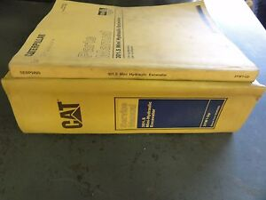 Caterpillar 301 5 Mini hydraulic Excavator Service Parts Manual 3yw1 up