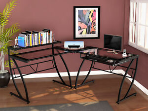 Z line Designs Chandler L shape Computer Desk