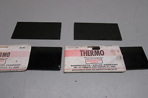 Thermacote Welco Thermo Welders Filter Lens 2 X 4 1 4 T9h More