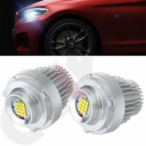 2018 6000k 80w E60 E61 Lci Bmw 5 Series Angel Eye Halo Led Bulbs 6000lm Ring