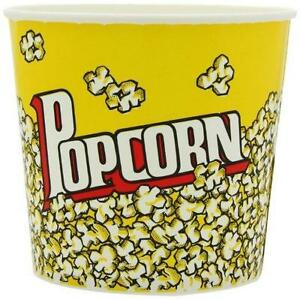 85 Oz Yellow Popcorn Cup 25 Count