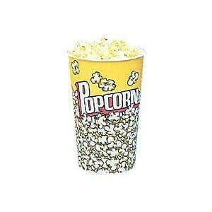 46 Oz Yellow Popcorn Cup 50 Count