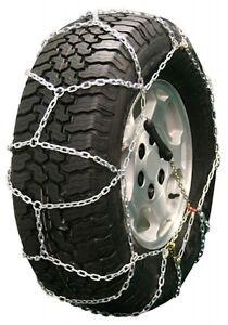 295 40 24 295 40r24 Diamond Back Tire Chains 3 7mm Link Pull Adjuster Suv Truck