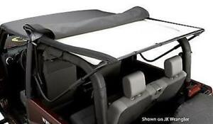 Bestop 51819 01 Headliner 2004 2006 Jeep Wrangler Unlimited Black