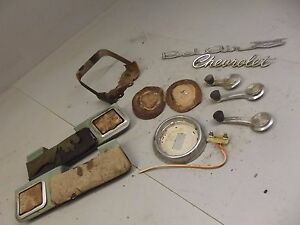 1966 Chevrolet Misc Parts Lot Belair Chevy Car