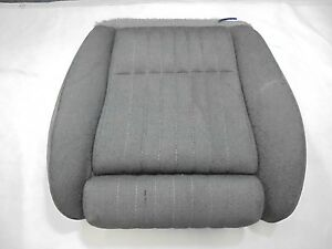 1987 1993 Mustang Recaro Front Bucket Seat Bottom Lower Passenger