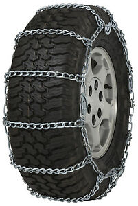 255 75 16 255 75r16 Tire Chains 5 5mm Link Cam Snow Traction Suv Light Truck Ice