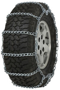 255 55 18 255 55r18 Tire Chains 5 5mm Link Cam Snow Traction Suv Light Truck Ice