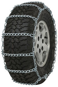 235 85 16 235 85r16 Tire Chains 5 5mm Link Non Cam Snow Traction Suv Light Truck