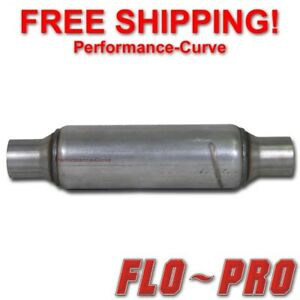 Flo Pro Twister F4 Exhaust Muffler Race Diesel Resonator 2 25 In 18 Long