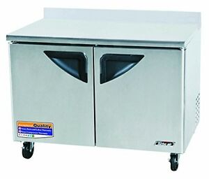 Turbo Air Twr48sd 12 Cu Ft Super Deluxe Series Worktop Refrigerator With Effic