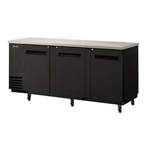Turbo Air Tbb4sb 30 Cu Ft Back Bar With Forced Air Cooling System Fluorescent