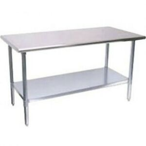 Turbo Air Tsw2424s 24 X 24 X 34 Mid grade Work Table With Stainless Steel Tab