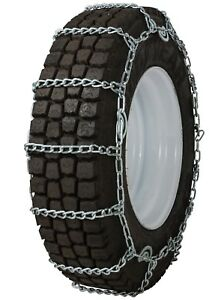 305 80 22 5 305 80r22 5 Tire Chains 8mm Link Cam Snow Traction Commercial Truck