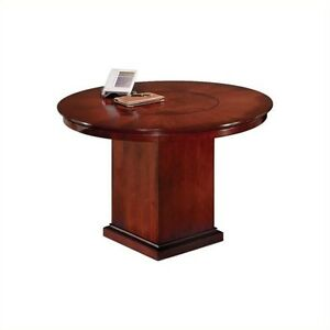 Dmi Del Mar 3 5 Round Conference Table With Column Base 5 And Under