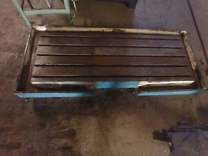 64 5 X27 5 X 6 Steel Welding T slotted Table Cast Iron Layout Plate Jig