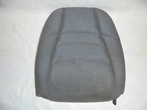 1994 1998 Mustang Front Bucket Seat Back Gray Cloth Passenger