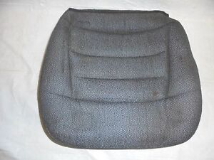 1994 1998 Mustang Front Bucket Seat Bottom Gray Cloth Passenger