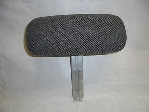 1994 1998 Mustang Front Bucket Seat Headrest Gray Cloth Rh Lh