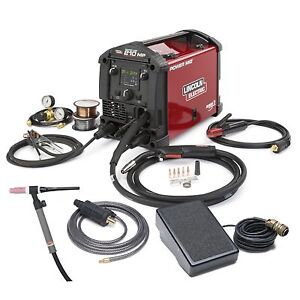 Lincoln Power Mig 210 Mp Multi Process Welder With Tig Kit k4195 2