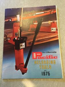 Vintage 1975 Hornady Pacific Reloading Tools Catalog 34 Pages $9.99