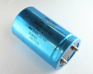 Mallory 3800uf 200v Large Can Electrolytic Capacitor Cgx382u200w4c